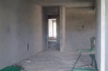 80% do apartamento com reboco interno concluído