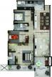Planta apartamentos tipo 24x