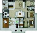 Planta humanizada Apartamento Cobertura
